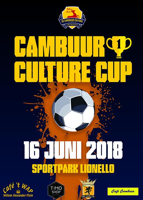 Cambuur Culture Cup poster 2018