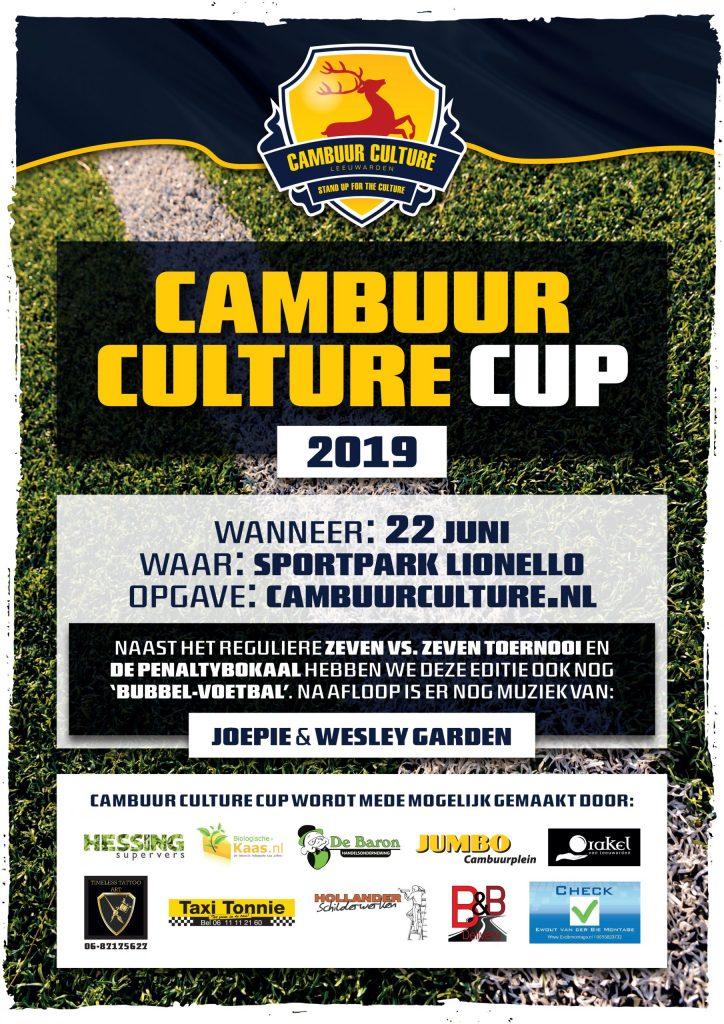 Cambuur Culture Cup poster 2019